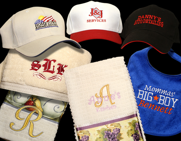 TJ Signs Screen Printing and Embroidery, Embroidery and Monograms